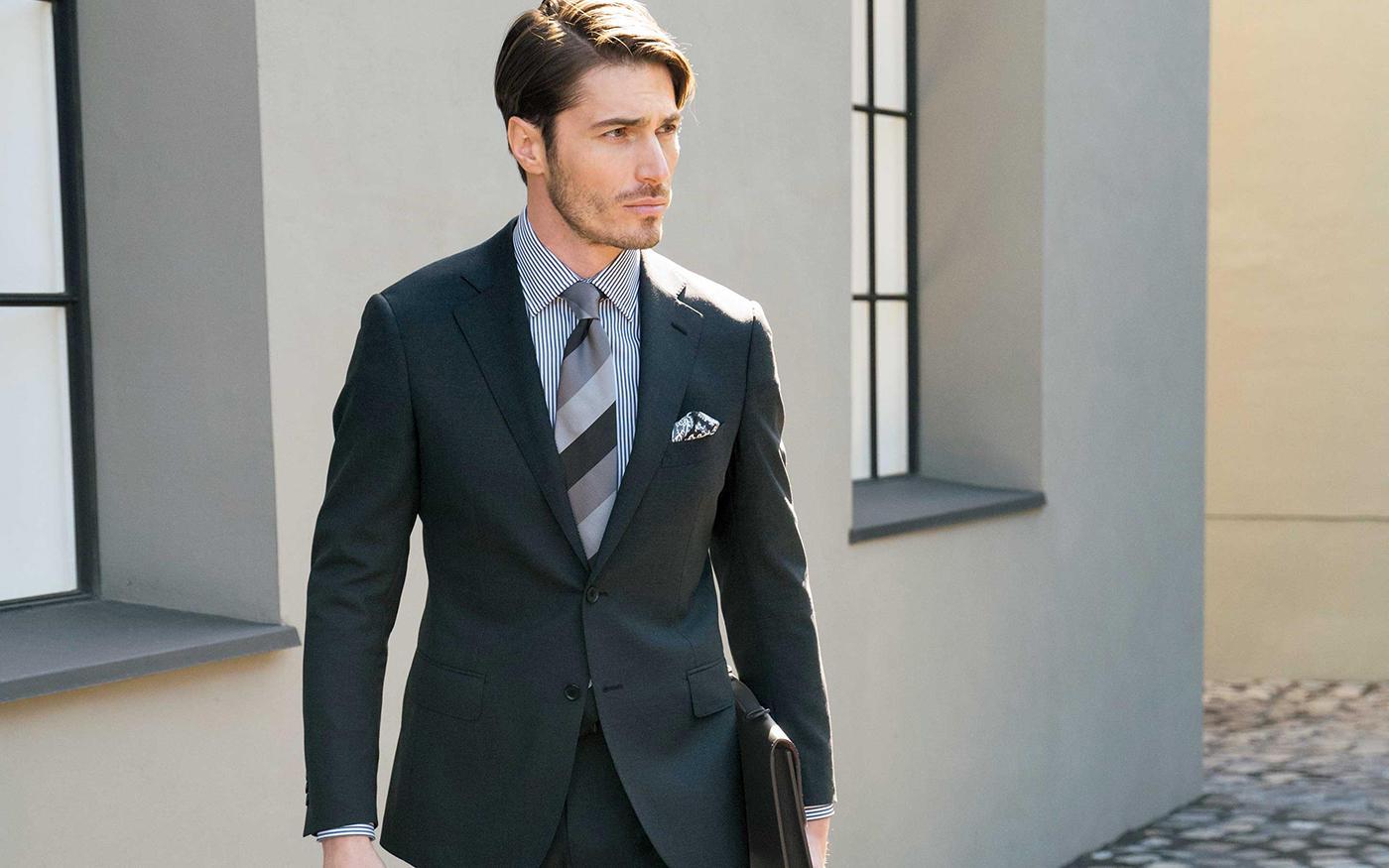 BUSINESS STYLEーー||マッキントッシュ ロンドンが提案する||働く男のための2つのスタイル
