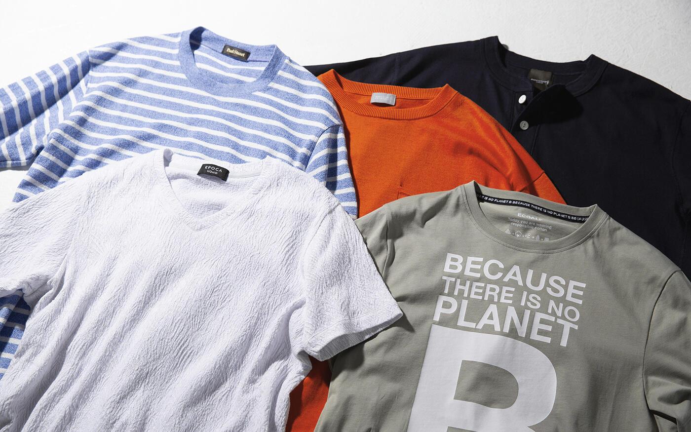 大人が選ぶべき今夏のTシャツ、  キーワードは  「リラックス」と「脱ブナン」