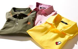 ワンポイントロゴで差をつける!  大人見えする「ポロシャツ」の選び方