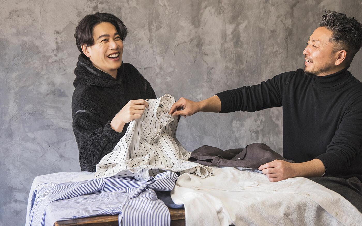 落語家・瀧川鯉斗も参戦! ||この春欲しいシャツ座談会